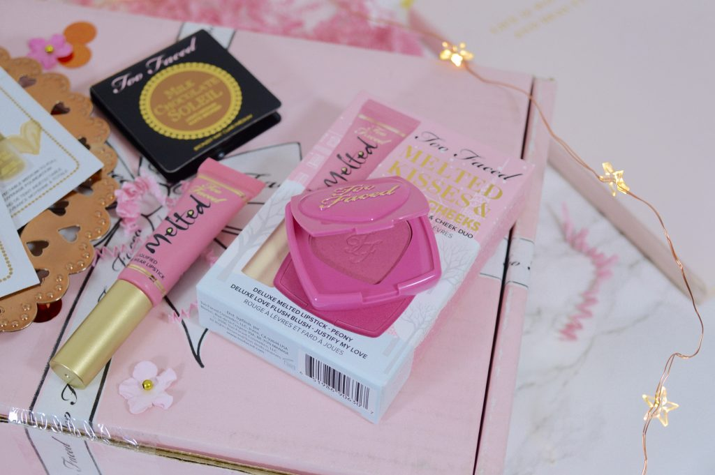 Too Faced – Melted Kisses & Sweet Cheeks Set Review