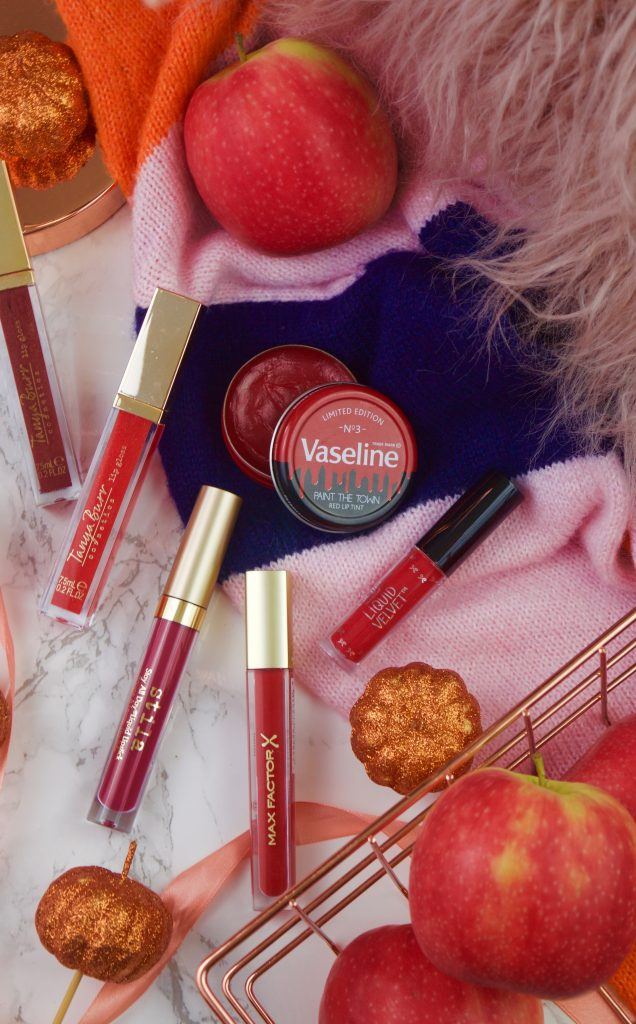 6 Red Lip Products Perfect for Autumn